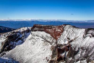 REd Crater - Tongariro Alpine Crossing