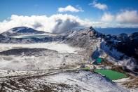 Blue Lake et Emerald Lakes - Tongariro Alpine Crossing