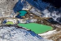Emerald Lakes - Tongariro Alpine Crossing