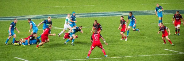 Match de rugby - Blues vs Crusaders