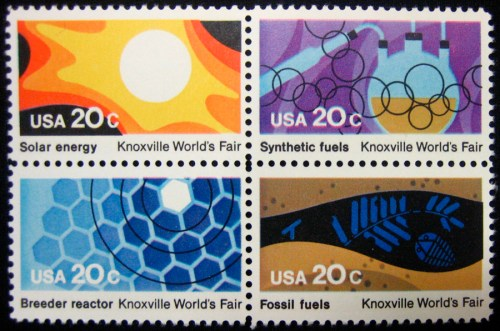 82 Worlds Fair stamps