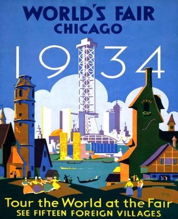1934 World's Fair Poster