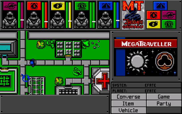 Megatraveller screen shot