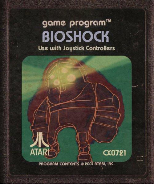 Bioshock Atari art