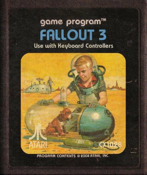Fallout 3 Atari art