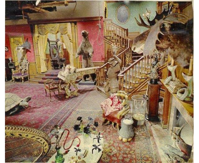 Addams living Room