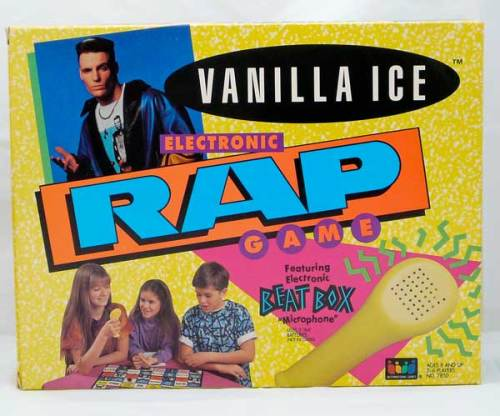 Vanilla Ice Rap Game