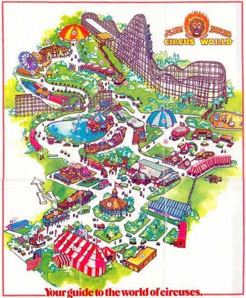 Circus World Map
