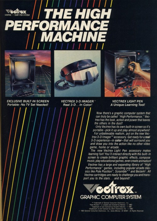 Vectrex accessories
