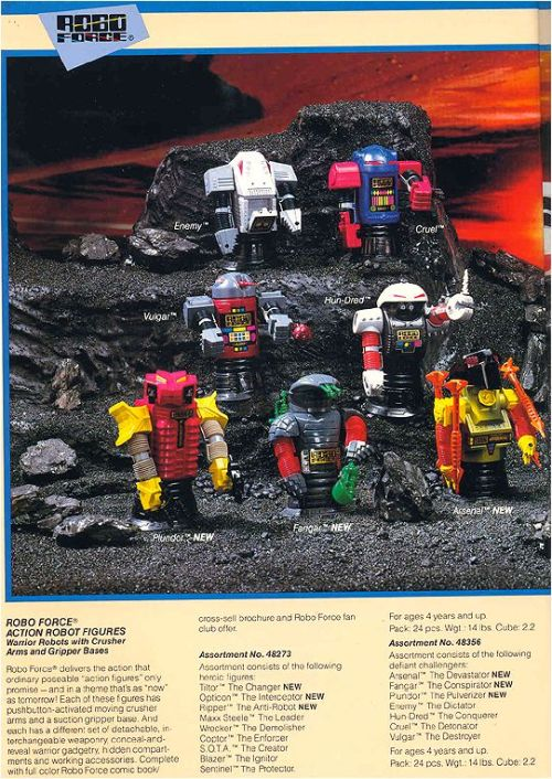 Robo Force Toys