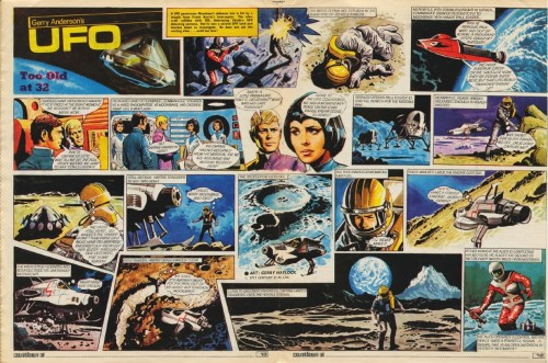 UFO comic