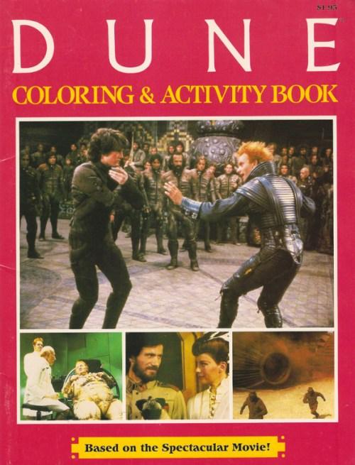 Dune Activity Book
