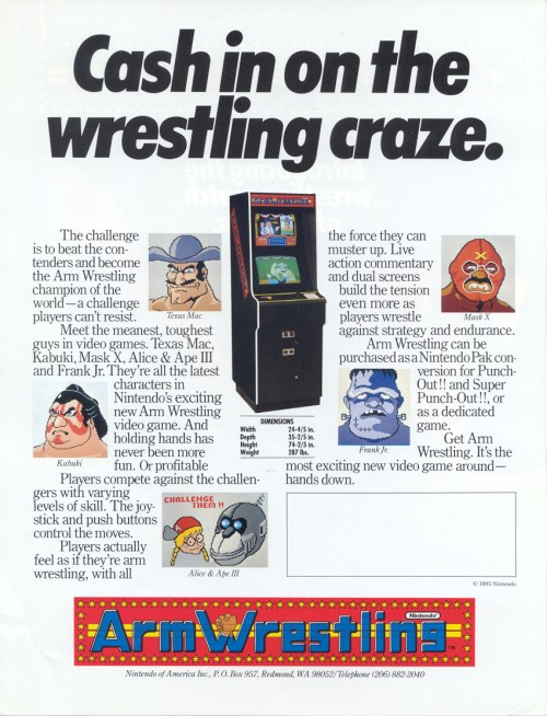 Arm Wrestling Ad