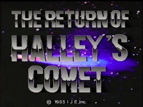Return of Halley's Comet