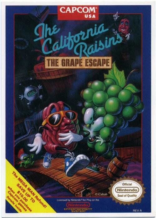 California Raisins: Grape Escape