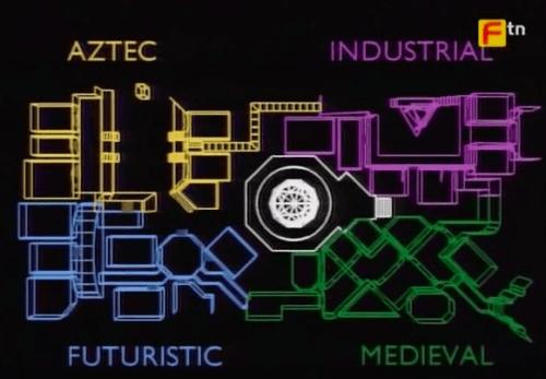 Crystal Maze Map
