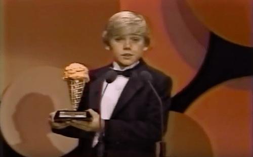 Ricky with Award