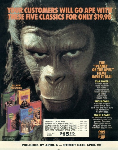 Apes Movies