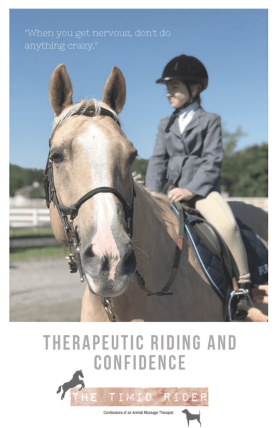 Therapeutic Riding and Confidence