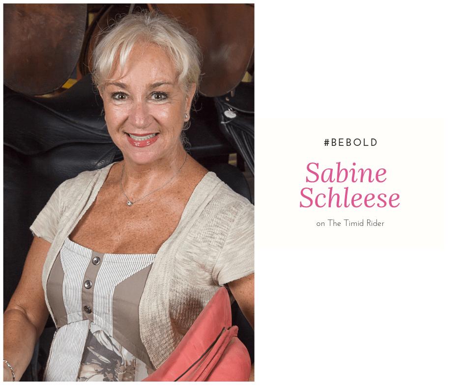 Equestrienne: Sabine Schleese
