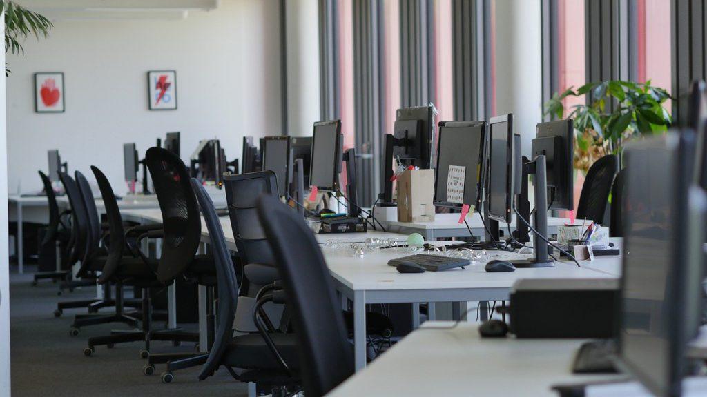 疫後大未來:空著的辦公室