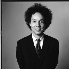 Malcolm Gladwell writes brilliant books, runs fast and he just might be a nice guy too.