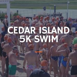 tim kerr charities cedar island 5k swim