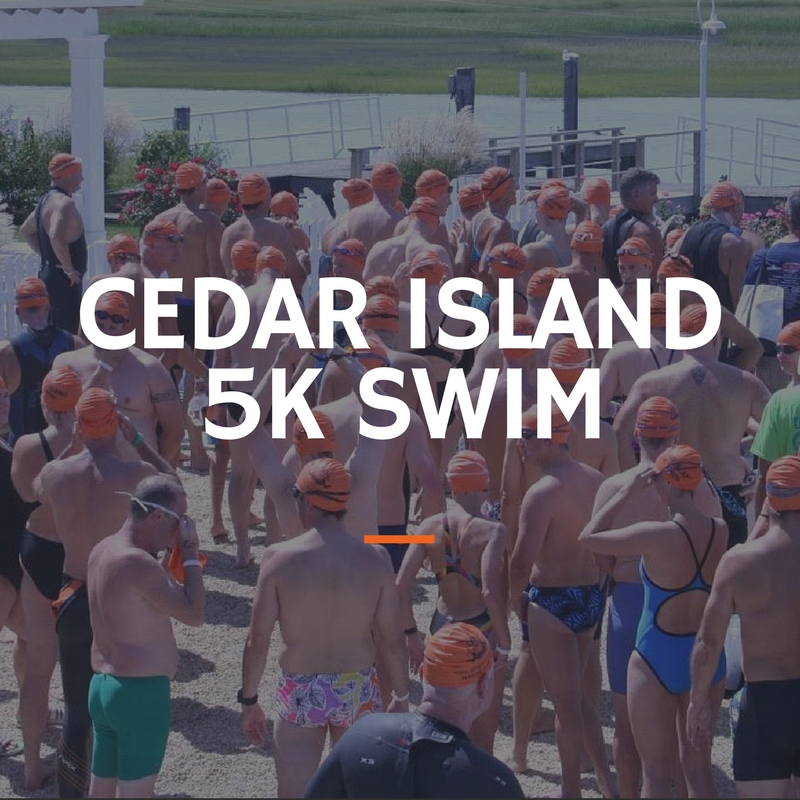 Cedar Island 5K Swim Tim Kerr Charities