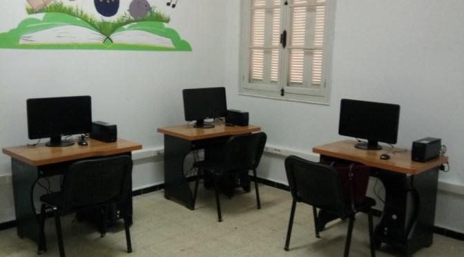 Une bibliothèque et l'installation d'un réseau informatique au village Ighil Bougueni, un projet fédérateur.