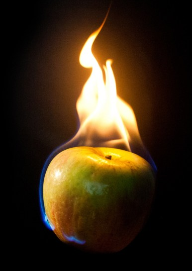 apple-on-fire