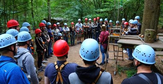 Der kletterwald in Aurich