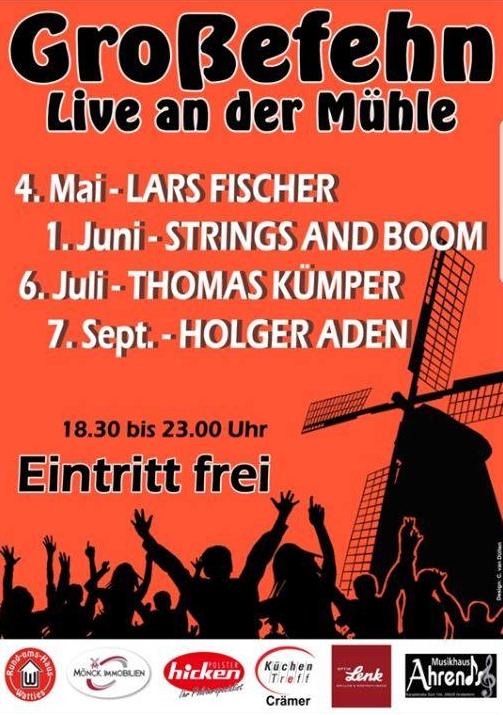 Großefehn - Live Musik an der Mühle