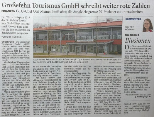 Touristische Investitionen