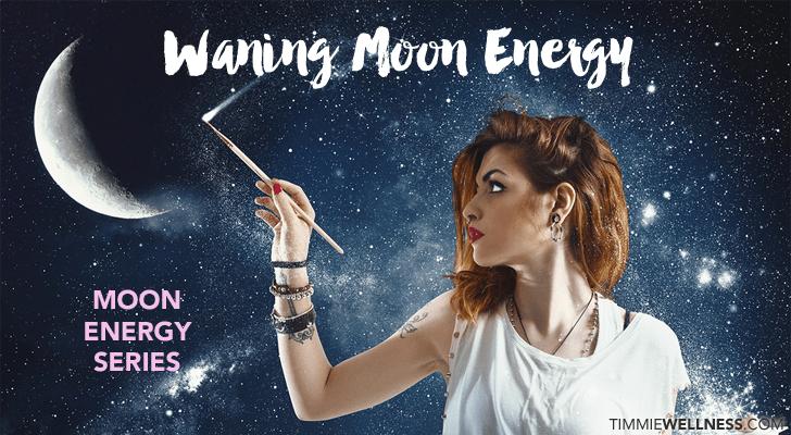 Waning Moon Energy by Timmie Horvath Policarpio Wanechko Edmonton Reiki Training Crystal Healing Aromatherapy Essential Oils