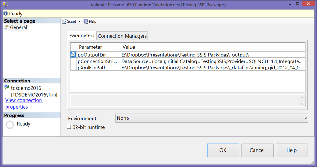 SSIS Package Validation in the Catalog - Tim Mitchell