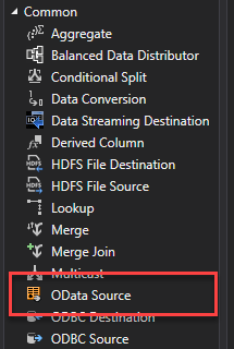 Sharepoint List - OData Source
