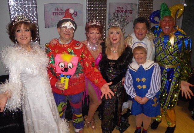 A host of stars join together for the 'This Morning Big Fat Panto Quiz.'