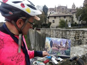 Pamplona painting