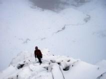 Climb on Stob Coire nan Lochan