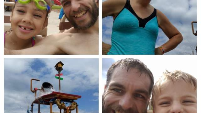 Day at the Chula Vista Water Park, Wisconsin Dells