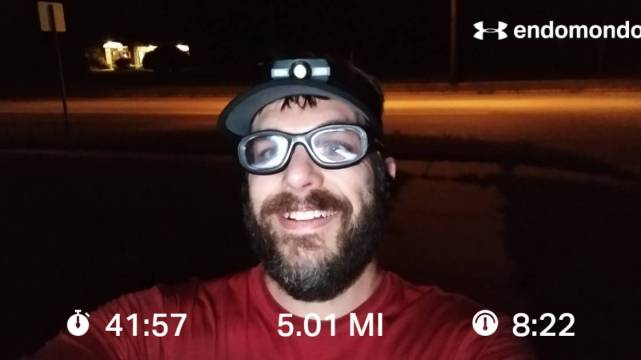 "An ""Easy"" 5 Mile Recovery Training Run"
