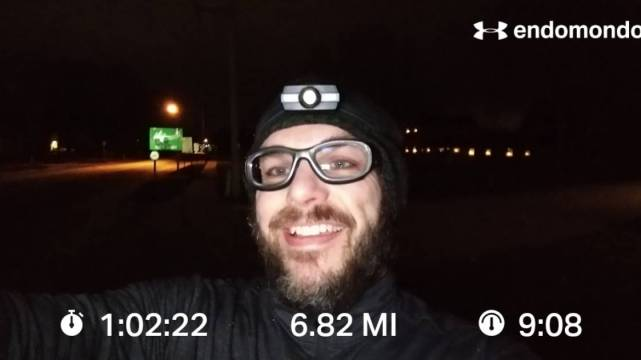 Christmas Eve 10K+ Training Run