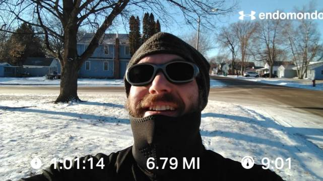 Final Training Run In Minnesota