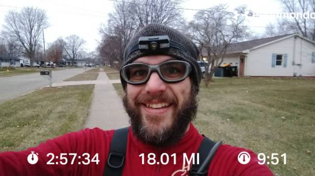 Knocking Out Another Long Run With My Running Partner