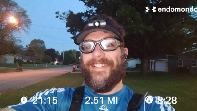 Short Easy Tuesday Training Run