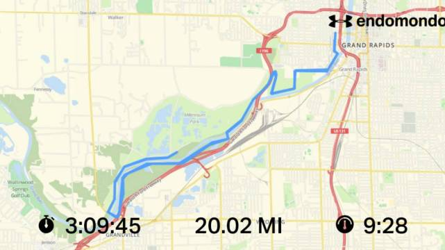 Tackling 20 Miles With The Hope Water & Grand Rapids Marathon Teams