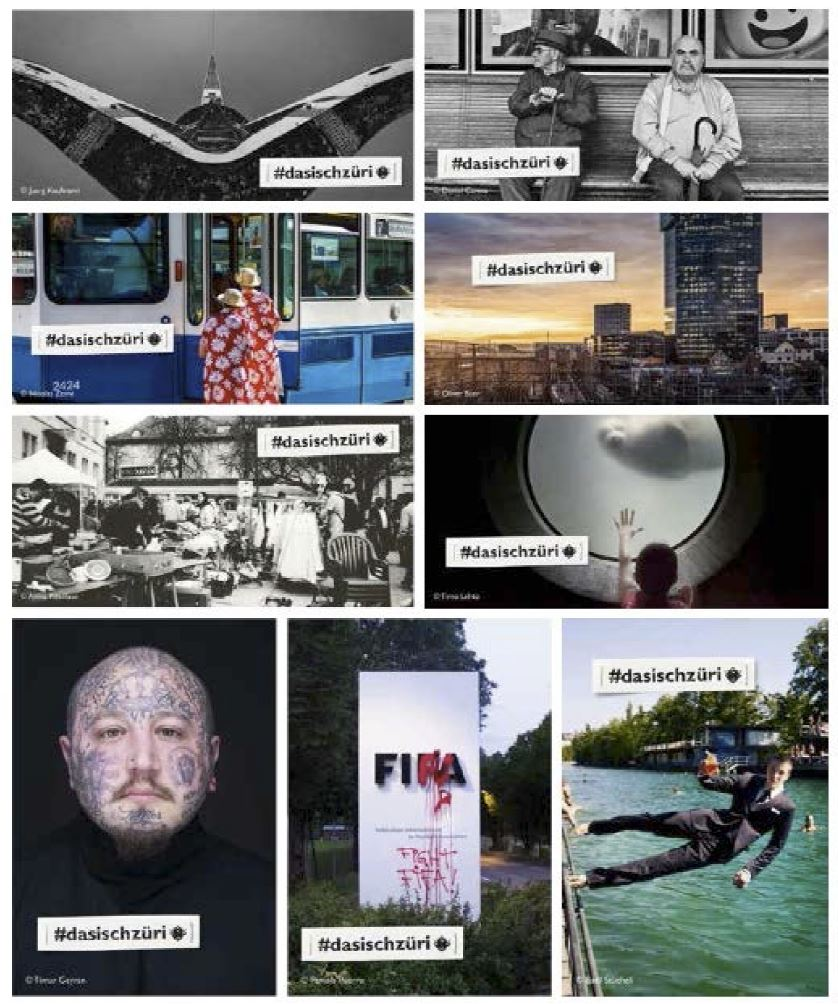 #dasischzüri advertisment image © #dasischzüri