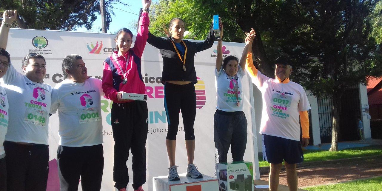 """Un éxito, la carrera atlética """"Camina, Trota y Corre"""""""