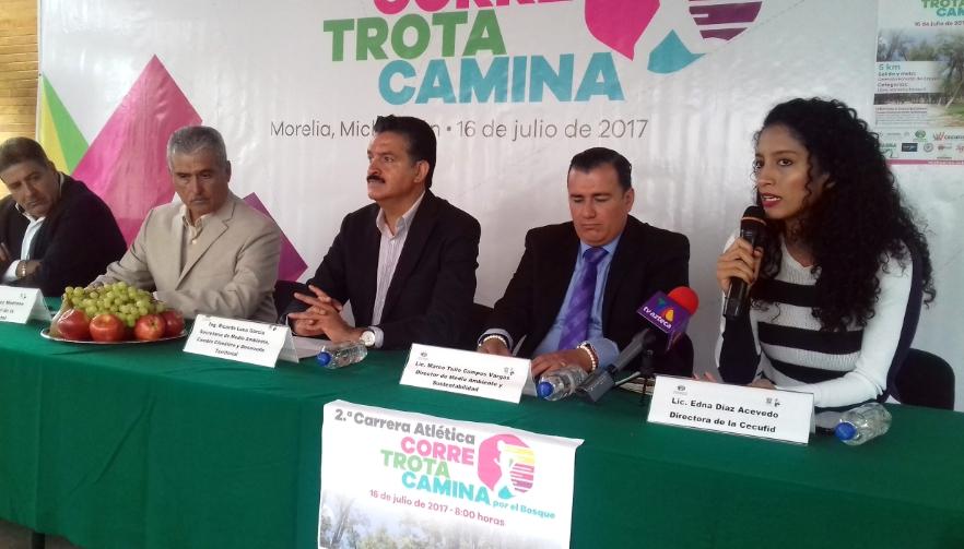 Anuncianreforestación y carrera atlética para conmemorarel Día Nacional del Árbol