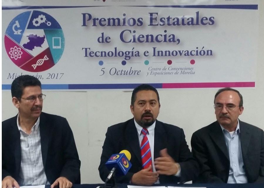 Abre Sicdet convocatoria a los Premios Estatales de Ciencia